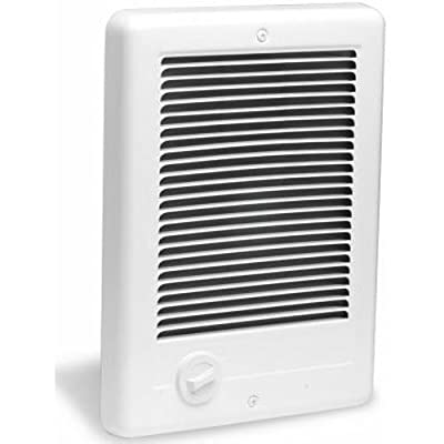 Cadet Com-Pak 1500W, 240V most popular electric wall heater with thermostat, white