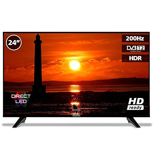 Television LED 24' INFINITON HD Ready - HDMI, 200Hz, Modo Hotel