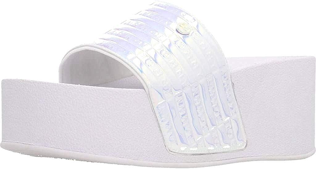 Tommy Hilfiger High Pool Slide Womens Sandals Metallic