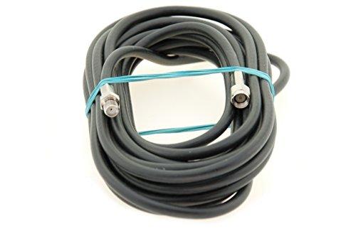 Alda PQ Antennen Verlängerungskabel 5m, Antennenkabel RG58 mit SMA/M auf SMA/F Steckern zur Antennenverlängerungund Empfangsverbesserung. Kabel ist für den Hochfrequenzbereich ausgelegt.