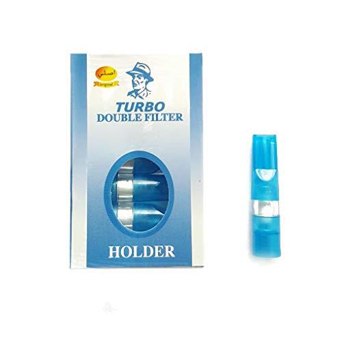 5 X Turbo Roken Filters Blauw Medwakh Dokha