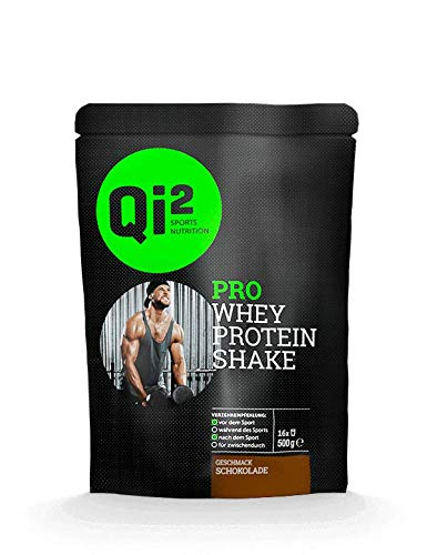 Qi² PRO Whey-Protein Shake Schokolade