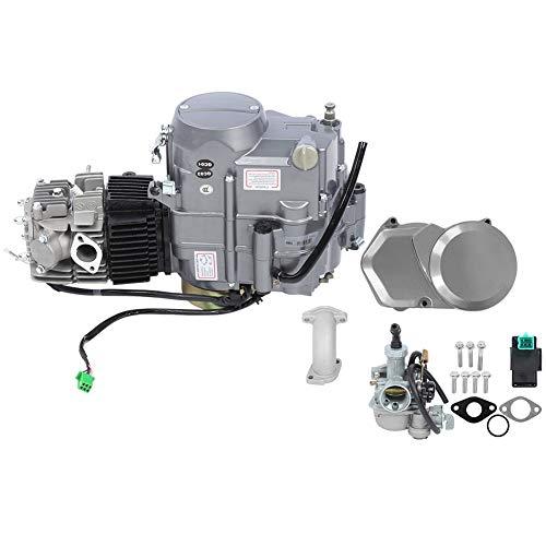 Alomejor Motor de Motor de 4 Tiempos 125CC Motor de Bicicleta eléctrica Kit de Bicicleta Accesorios de conversión de Bicicleta eléctrica