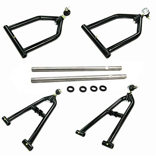 Primecooling Adjustable Extended Front A-arm +2+1 Wider w/Extensions Suspension fit for 1987-06 Yamaha Banshee YFZ 350