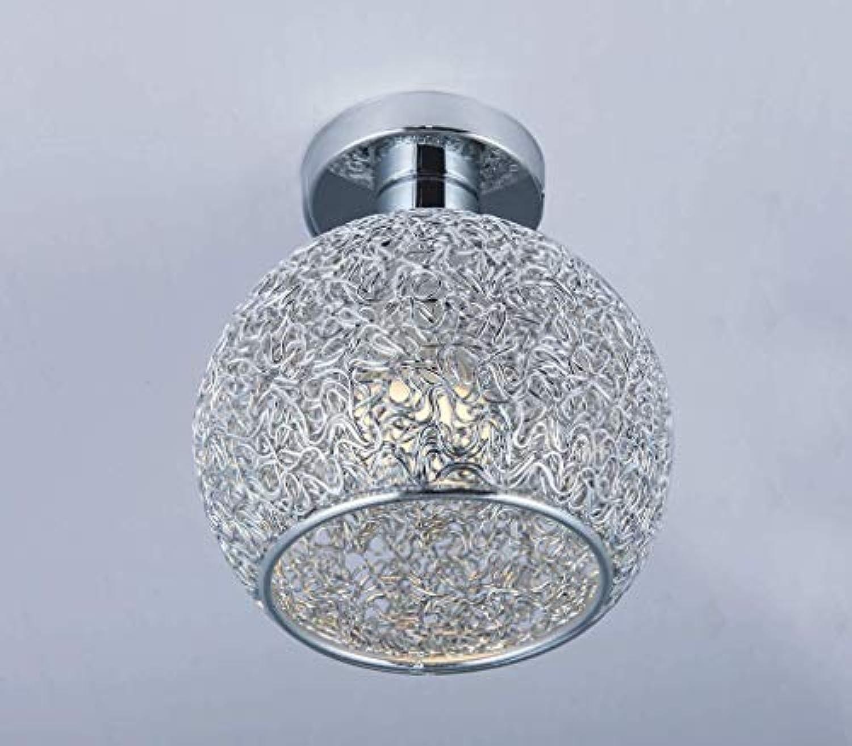 DYV LED einzigen Kopf alle Aluminium deckenleuchte Kreative Einfachheit Runde licht für Wohnzimmer Restaurant küche Studie Schlafzimmer Badezimmer E27  1