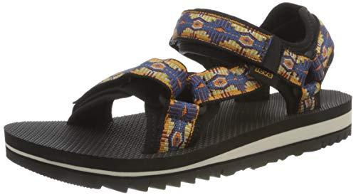 Teva Universal Trail Sandal Womens, Zapatos para Senderismo Mujer, Mehrfarbig, 39 EU