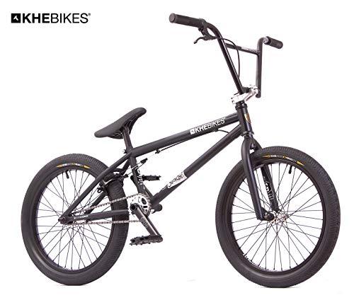 KHE BMX Fahrrad Silencer LT schwarz 20 Zoll patentierter Affix 360° nur 9,9kg!