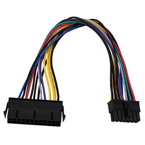 Cotchear (30cm 12inch) 24 Pin to 14 Pin PSU Main Power Supply ATX Adapter Cable for Lenovo IBM