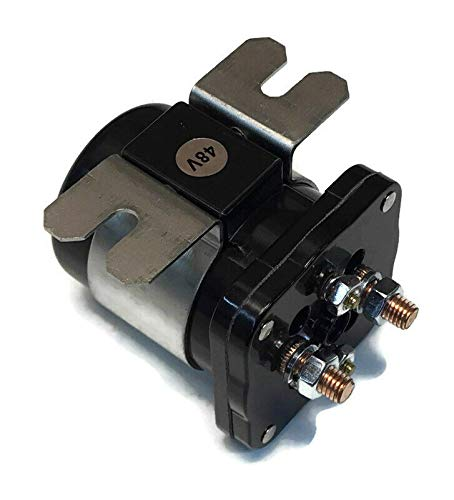 48V Solenoid replaces Yamaha JR1-H1950-00 for G19 G22 Golf Cart Years 1995 & Up