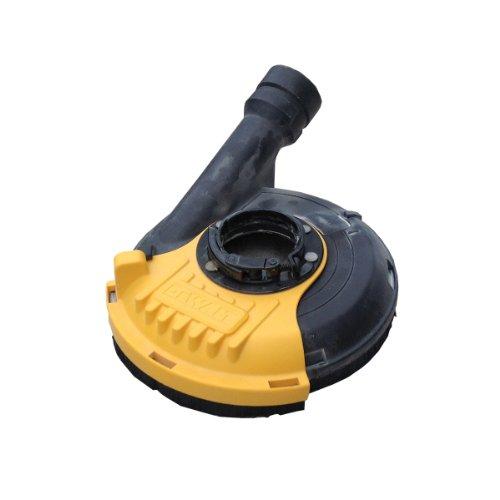 DEWALT DWE46150-XJ Poliergehäuse mit Absaugung - Für DEWALT 115-125 mm Schleifmaschine - Werkzeugloses Anbringen - Kompatibel mit dem AIRLOCK-System