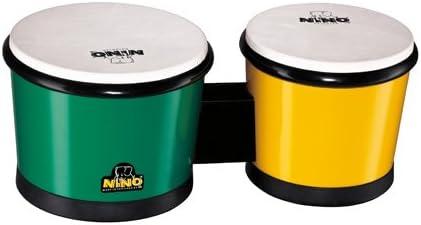 NINO ABS Dealing full price reduction Over item handling Bongos 6 1 7 Green 2-Inch Yellow
