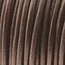 1mm Indian Leather Round Lace Beading Jewelry and Craft Cord 25 Yards Metallic Tamba 1mm Thick