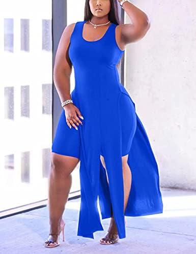 Royal blue womens pant suit _image4