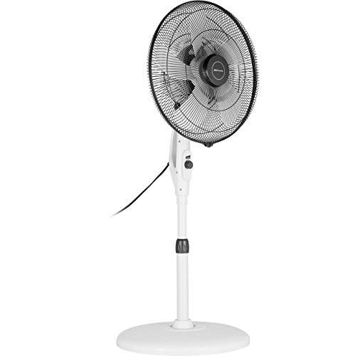 BIONAIRE–BSF003x-01–Standventilator spart Energie–Weiß 30W/Blaß 40cm