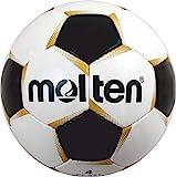 Molten - Balón de fútbol, color blanco/dorado/negro, talla 4