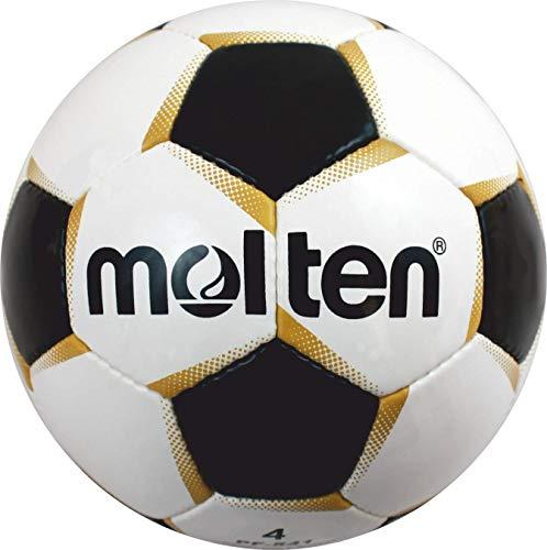 Molten PF-540 - Pallone da calcio taglia 5, colore: Bianco/Oro/Nero