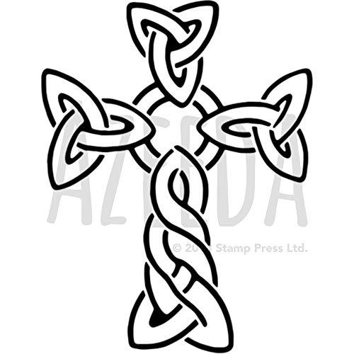 A5 'Celtic Cross' Wall Stencil / Template (WS00033000)