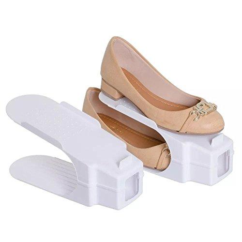 Organizador Rack Sapato, 20 unidades, Branco