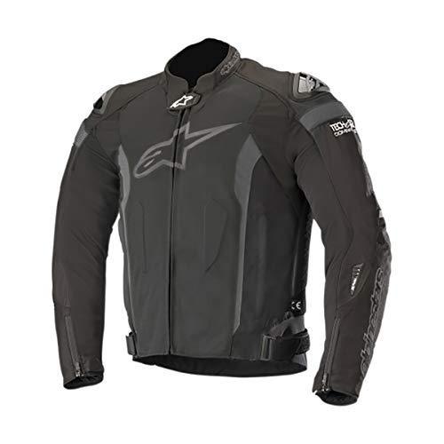 Alpinestars Men's T-Missile Air Motorcycle Jacket Tech-Air Compatible, Black/Black, Medium