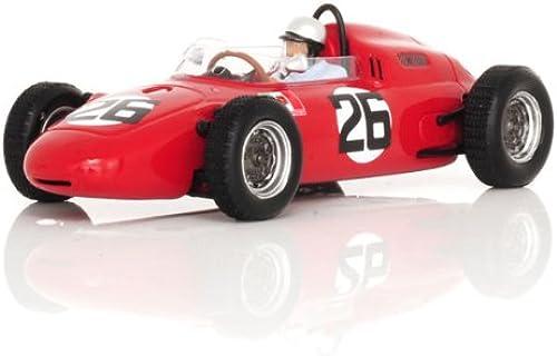 Spark - S1863 - Véhicule Miniature - Modèle à L'échelle - Porsche 718 F1 - GP Allemagne 1962 - Echelle 1 43