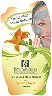 Beauty Secrets Dead Sea Facial Mud With Witch Hazel For Women, 35Gm