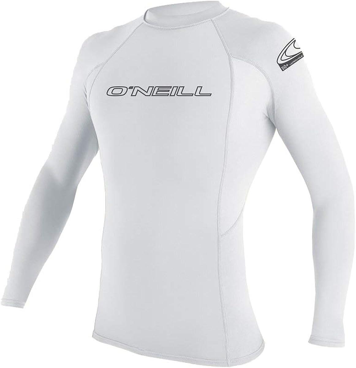 O'NEILL Basic Skins L/S Performance Fit Rashguard White