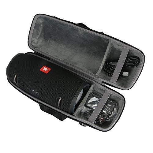 Hart Reise Schutz Hülle Etui Tasche für JBL Xtreme 1/2 Tragbarer Bluetooth Lautsprecher von co2CREA (Schwarz)