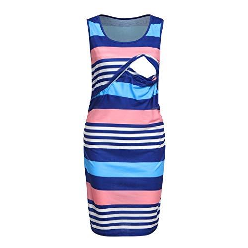 pitashe Basic Sleeveless Umstandskleid Damen Sexy Bodycon Bleistiftrock Kleid Schwangerschafts Lässiger Hosenträger Sommerkleid Elegant Umstandsmode Stretchkleid