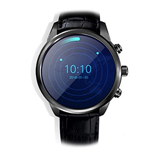 GALIMAXIA X5 Plus inteligente reloj teléfono, 1GB + 8GB, 1,39 pulgadas de pantalla OLED androide 5.1 MTK6580 de cuatro núcleos, cuero genuino de cuero de vaca correa de reloj, de red: 3G, Soporte moni