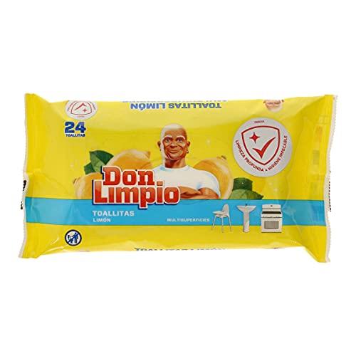 Don Limpio Toallitas Multisuperficies Aroma Limón 24 Unidades