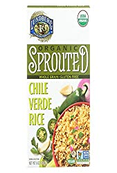 Lundberg Family Farms, Rice Sprouted Chile Verde Organic, 6 Ounce