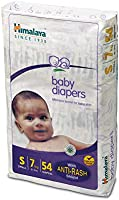 Himalaya Baby Diapers, Small (Upto 7 kg), 54 Count