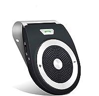 [MAR] ハンズフリーBluetoothカーキットモーションセンサー付きオートパワーオンバイザー、スマートフォンデバイス用カースピーカーフォンキットのワイヤーレスハンズ