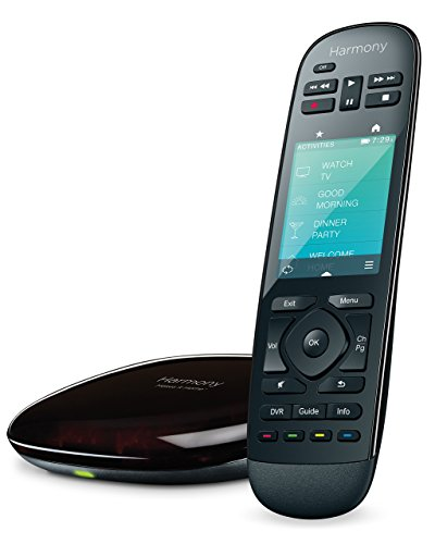 Logitech 915-000237 - Harmony Ultimate Home Touch Screen Remote - Black (Renewed)