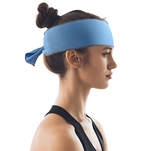 Headache Ice Pack for Migraine, Neck Ice Pack Wrap, Cooling Neck Wrap, Ice Bandana Cooling Ice Pack for Neck, Head, Shoulder, Belly