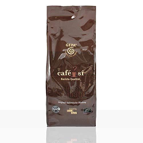 Gepa Cafe Si Espresso Siciliano - 4 x 1kg ganze Kaffee-Bohne