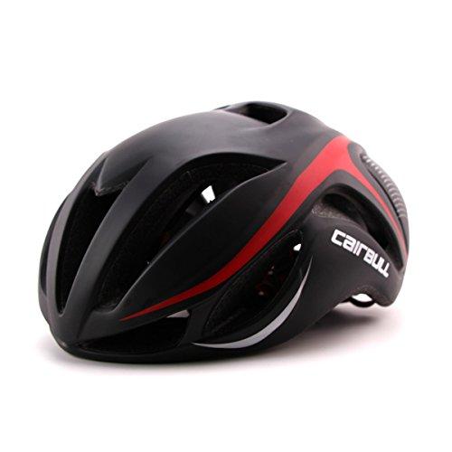 Cairbull Aerodinámica Casco de Bicicletta, Unisex Adulto, Ajustable 56-62 cm