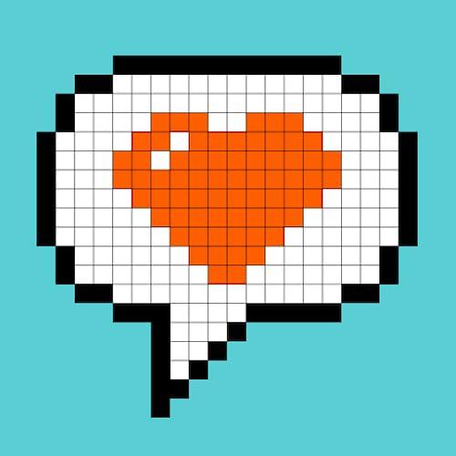 Pixel4u: Malen nach Zahlen Pixel Kunst Malbuch