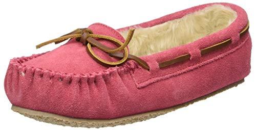 Minnetonka Cassie Slipper (Toddler/Little Kid/Big Kid),Hot Pink,13 M US Little Kid
