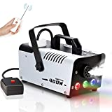 Best Fog Machines - Amitito Fog Machine with Lights 400W Disinfection LED Review