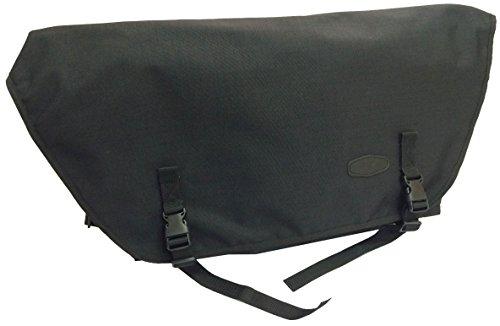 BIKEBELLE® BLACK BULL College-Tasche (Aktentasche Messenger Bag Umhängetasche Schultertasche 62 x 38 x 14 cm), BikeBell:POLIGON BLACK