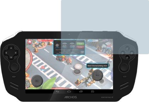 4ProTec I 2X Archos Gamepad 2 ENTSPIEGELNDE Displayschutzfolie Bildschirmschutzfolie Schutzhülle Displayschutz Displayfolie Folie