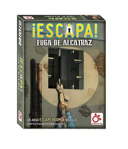 Gioco da Tavolo ¡Escapa! Fuga de Alcatraz (Spagnolo)