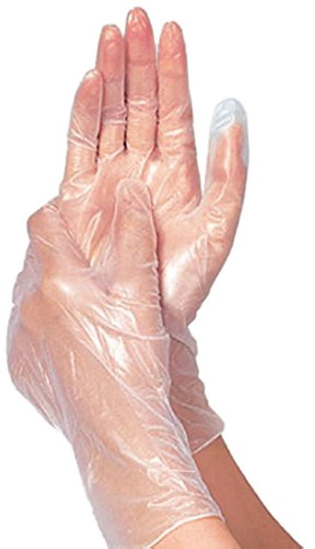 聴衆気をつけて暗黙竹虎 タケトラプラスチック手袋パウダーフリーS 100枚 75802