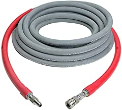 SIMPSON Cleaning Wrapped Rubber 41184 3/8'' x 50' at 8000 PSI Hot water hose