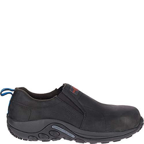 Merrell Jungle Moc Leather Comp Toe SD+ Work Shoe Men 6.5 Black