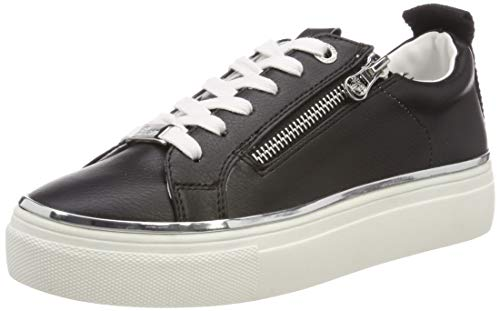 TOM TAILOR Damen 6996806 Sneaker, Schwarz (Black 00001), 41 EU