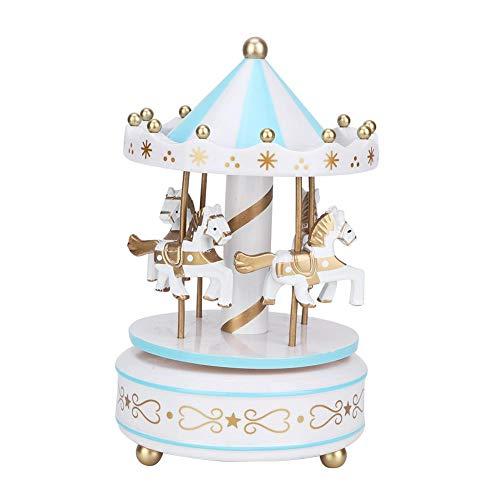 AUNMAS Scatola Musicale giostra Scatola Musicale giostra per Natale Matrimonio Negozio di Regali di Compleanno Decorazione per la casa (2#)