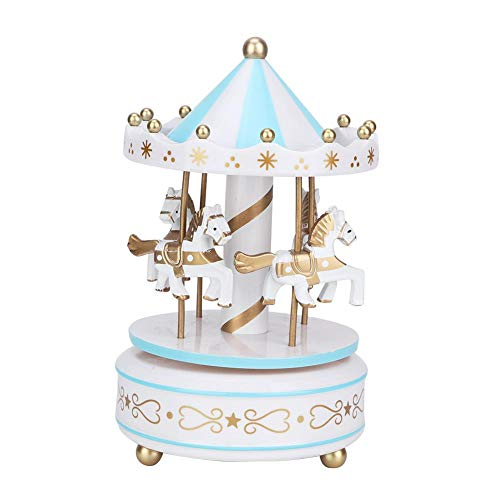 AUNMAS Merry-Go-Round Music Box Carrusel Caja Musical para