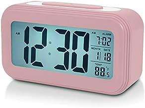 Battery Digital Alarm Clock for Bedroom, 4.5